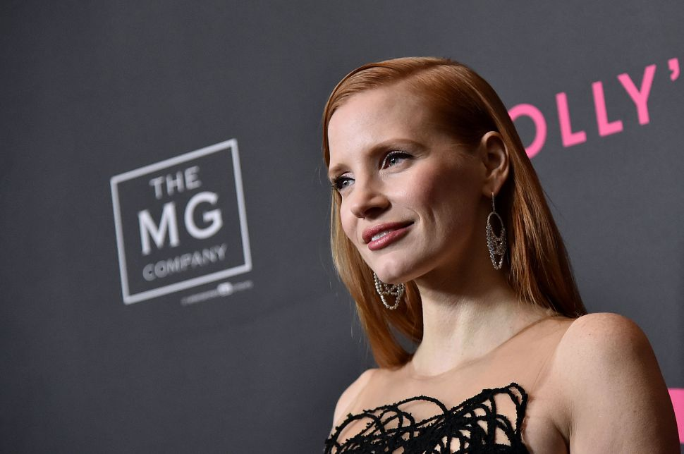 Jessica Chastain Rips Her Own All-White Magazine Cover