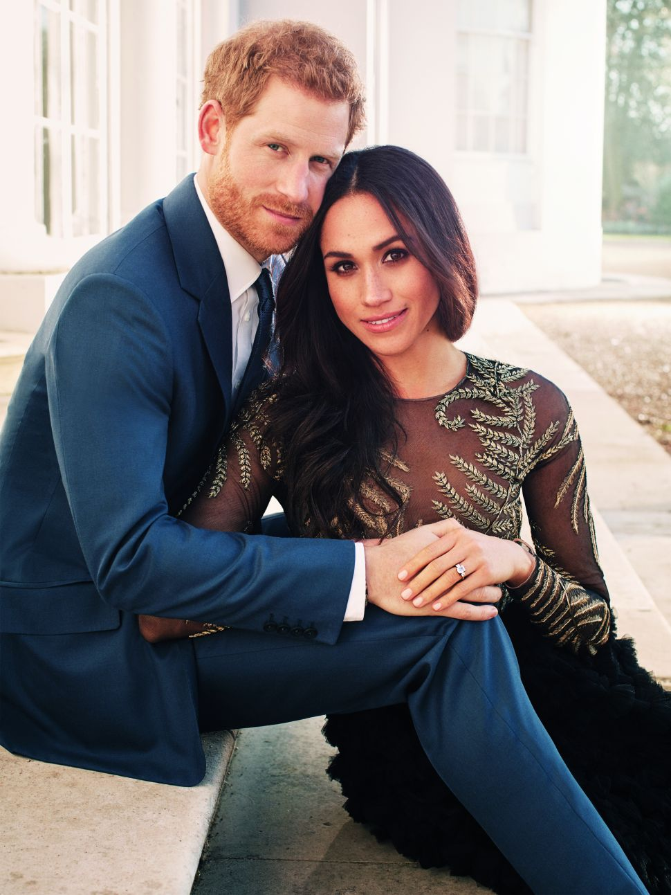 Prince Harry and Meghan Markle's Official Engagement Photos Are Glamour Shots