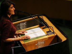 United States Ambassador to the United Nations Nikki Haley.