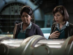 Octavia Spencer and Sally Hawkins in The Shape of Water.