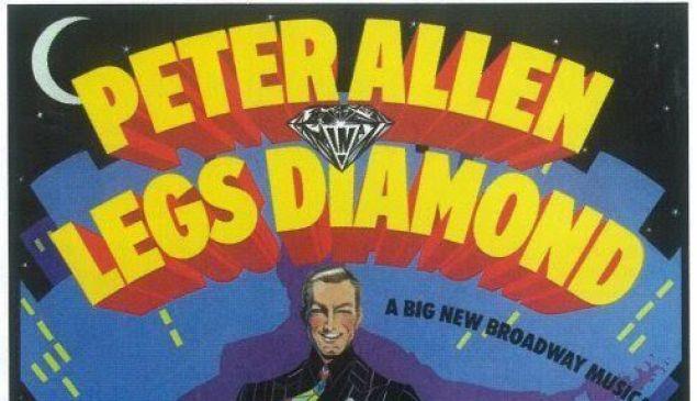 Legs Diamond promo poster.