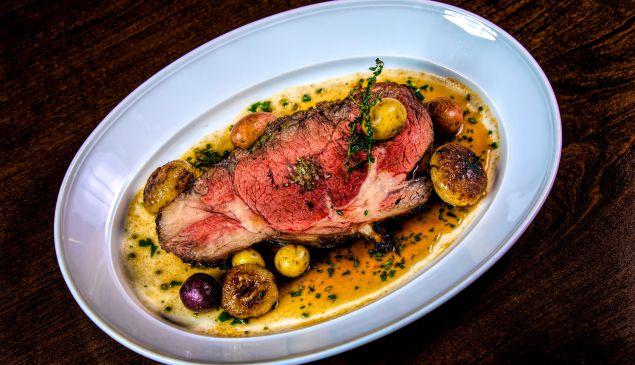 It's prime rib time at MB Steak.