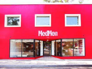 MedMen flagship store in West Hollywood, Calif.