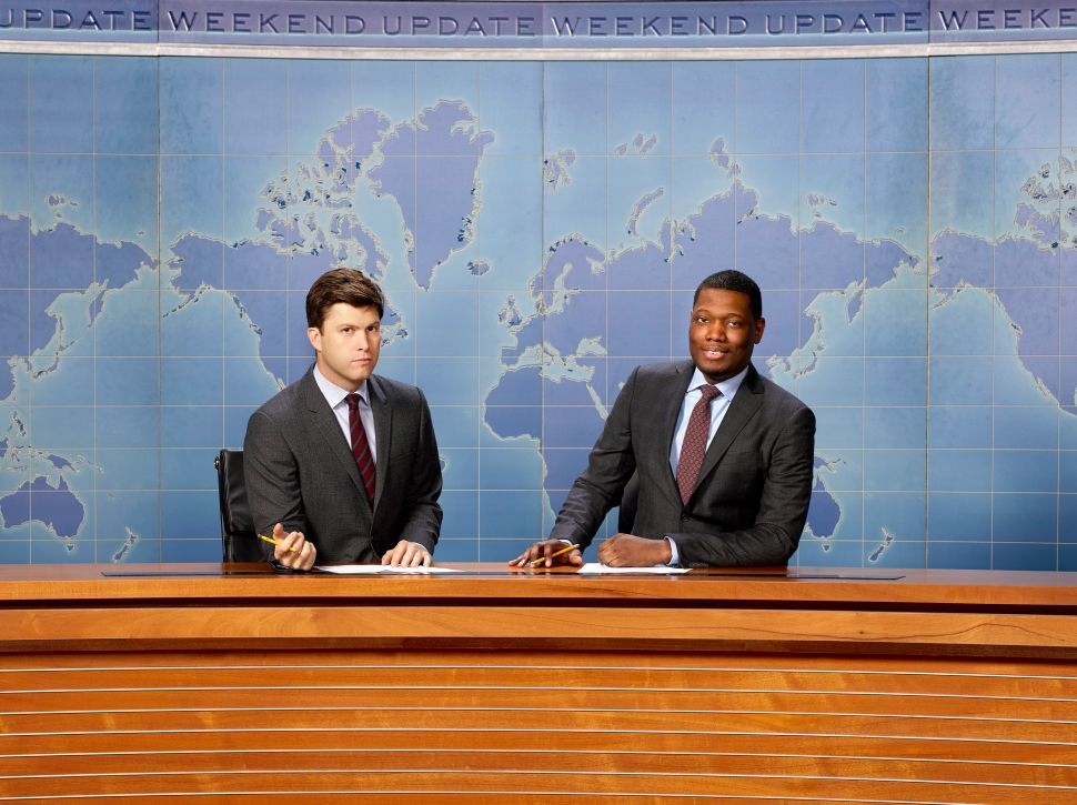 Michael Che and Colin Jost Named Head Writers at 'Saturday Night Live'
