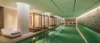 Luxury Pool At The Bulgari Hotel In London Observer