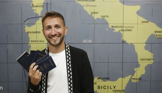 Sal Lavallo has filled almost five passports while traveling to all 193 countries.