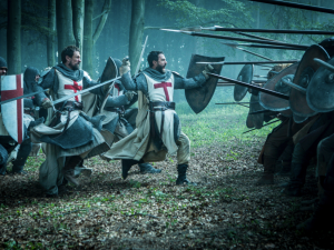 History's new drama series Knightfall.