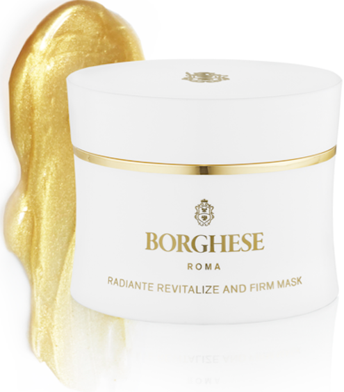 Treat Yourself to the Glittering Gold Face Mask Created by a Princess