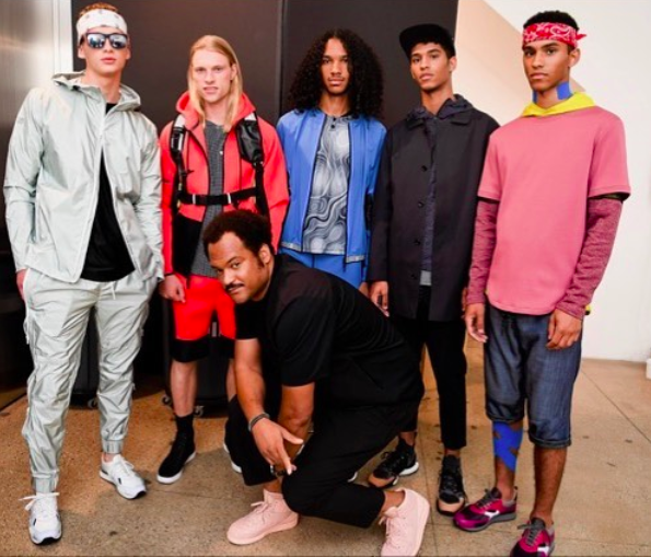 DYNE's Chris Bevans Tests Out His Fashion Designs While Snowboarding