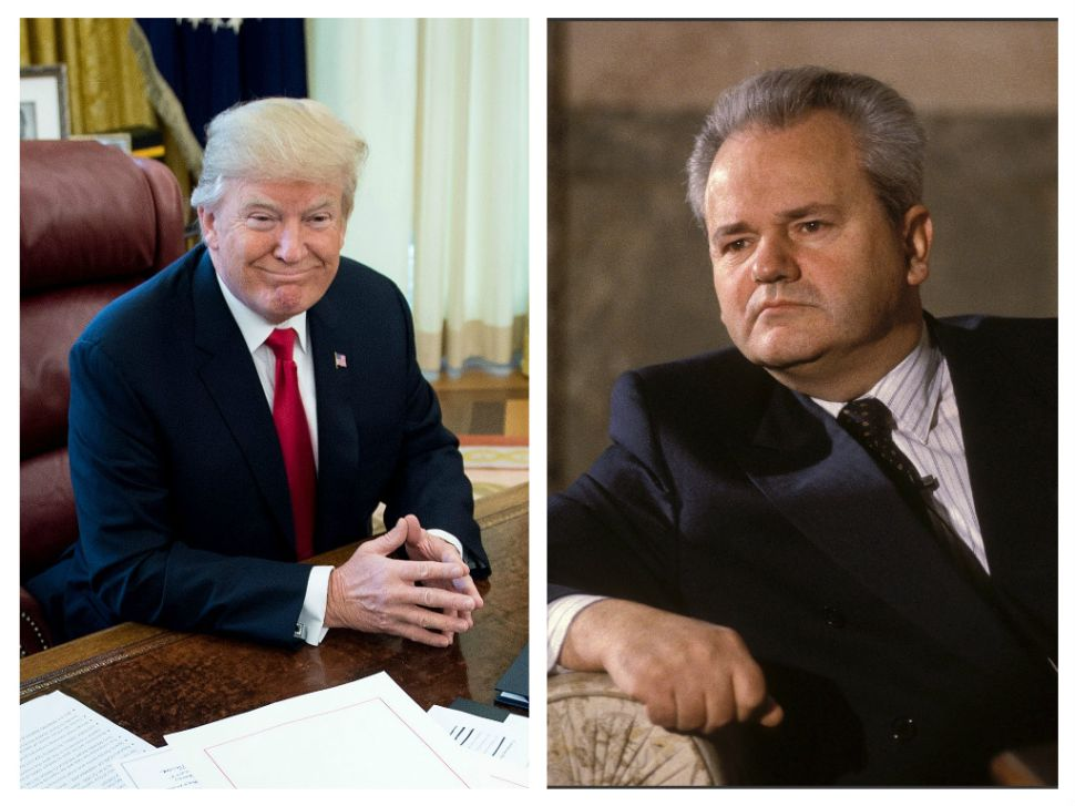Warning: Donald Trump Is America's Slobodan Milošević