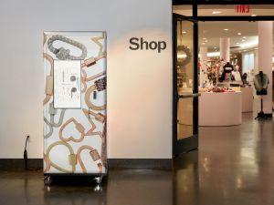 Marla Aaron's vending machine.