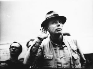 Joseph Beuys in a still from Beuys.