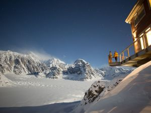 If ultimate seclusion is the goal, visit The Sheldon Chalet, located within Denali National Park.