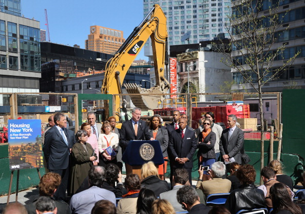 NYC Sets Affordable Housing Record with 24,500 Homes Financed in 2017