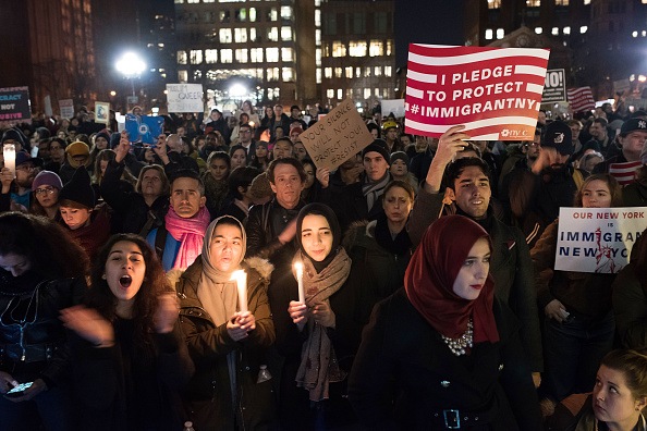 A Year After Trump's Travel Ban, Muslim Advocates Vow to Keep Resisting