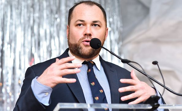 City Council Speaker Corey Johnson attends 2017 High Line Spring Benefit Dinner at The Waterfront on May 15, 2017 in New York City.