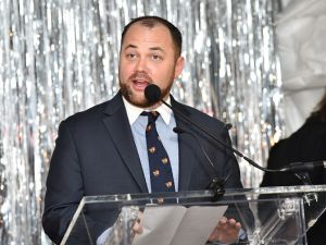 City Council Speaker Corey Johnson at the 2017 High Line Spring Benefit Dinner at The Waterfront on May 15, 2017 in New York City.
