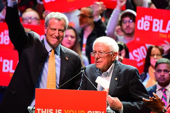 De Blasio Praises Bernie Sanders Amid Reports He's Mulling 2020 Presidential Bid