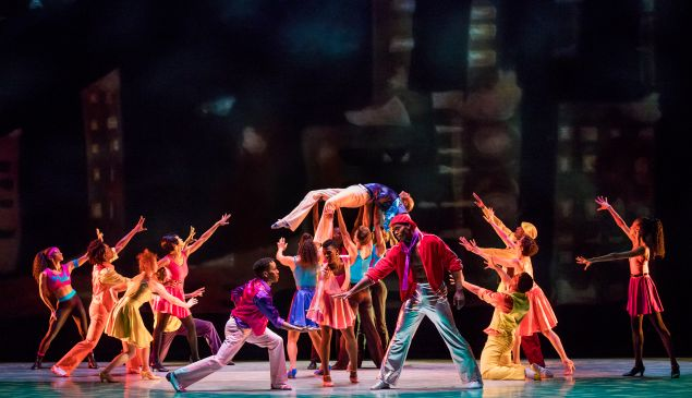 Stack-Up Choreography: Talley Beatty Alvin Ailey American Dance Theater Credit Photo: Paul Kolnik studio@paulkolnik.com nyc 212-362-7778
