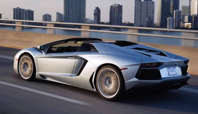 This Lamborghini Aventador Roadster comes with an $85 million apartment at the Atelier.