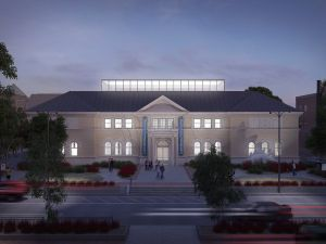 Renderings for the Berkshire Museum redesign, which the institution intends to fund through the deaccessioning of part of their collection.
