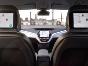A look inside GM's new electric car.