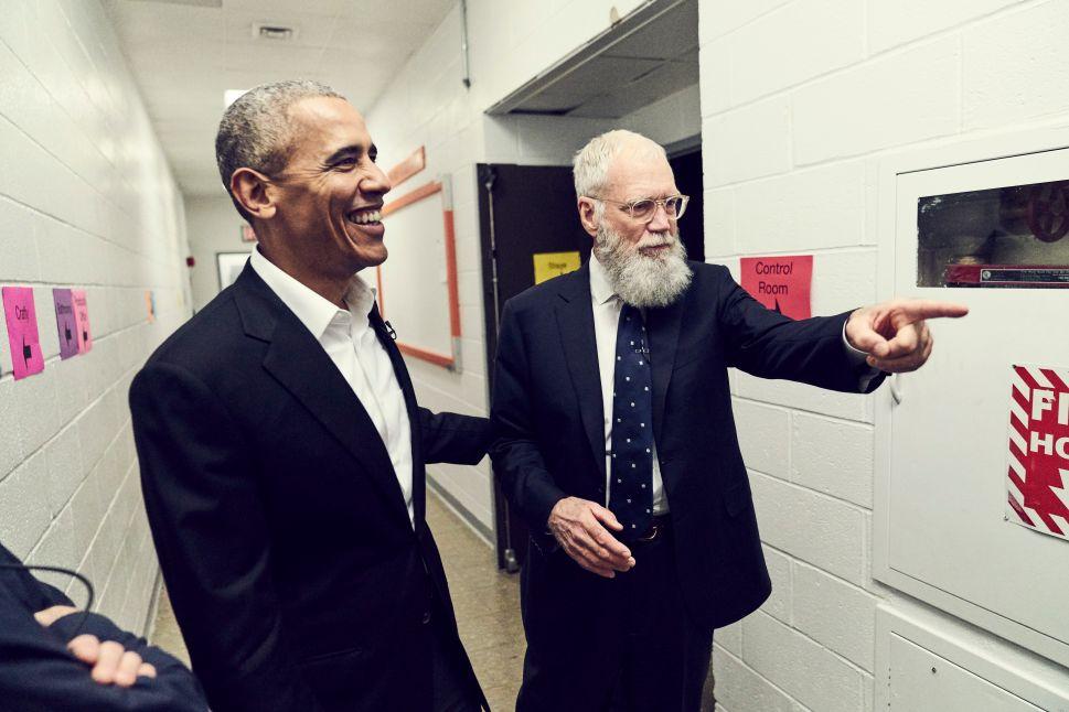 David Letterman's New Netflix Talk Show Will Launch Next Week With Barack Obama