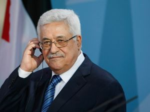 Palestinian Authority President Mahmoud Abbas.