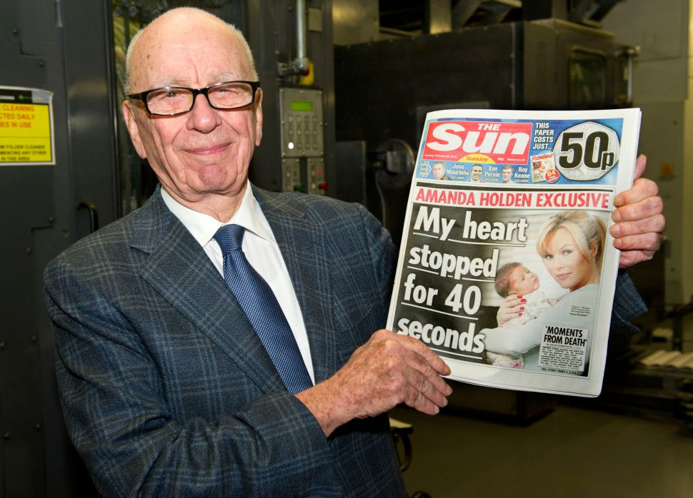 UK Regulators: Fox-Sky Deal Will Give Murdoch 'Too Much Control'