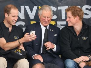 prince harry phone