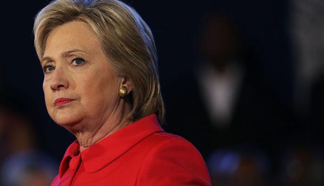 Former Democratic presidential candidate Hillary Clinton.