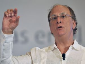 "Laurence ""Larry"" Fink, CEO of BlackRock"