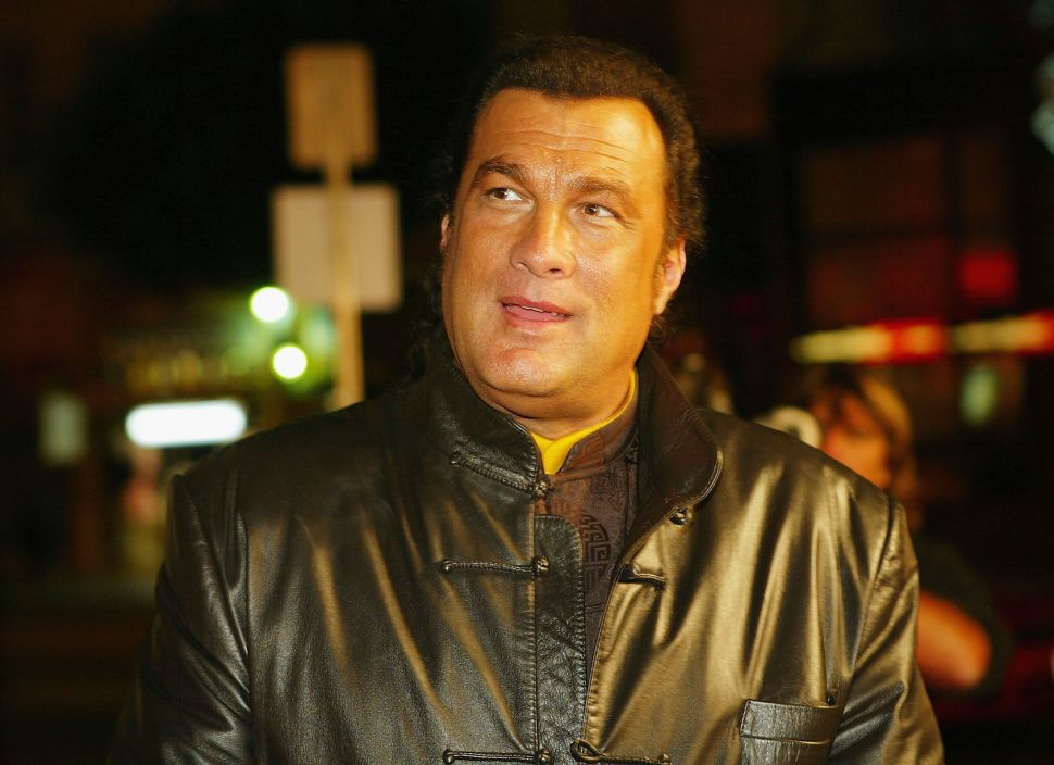 Woman Accuses Actor Steven Seagal of Rape
