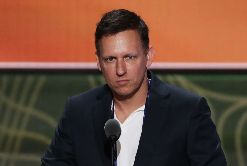 Peter Thiel said Bitcoin is the gold in cyber age.