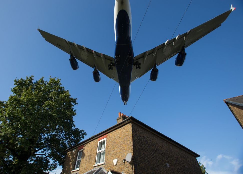 What Do You Do When Your Quiet Neighborhood Becomes a Flight Path?