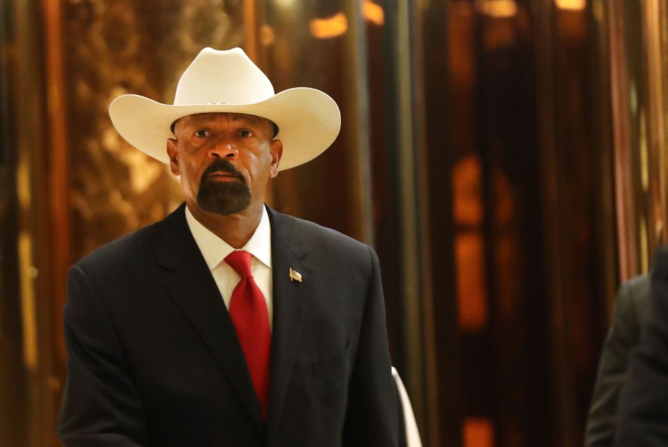 How Right-Wing Nut David Clarke Gets on Donald Trump's Good Side