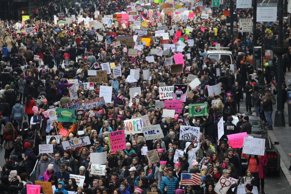 A Day at the Women's March, A Night with Chelsea Manning and the Alt-Right