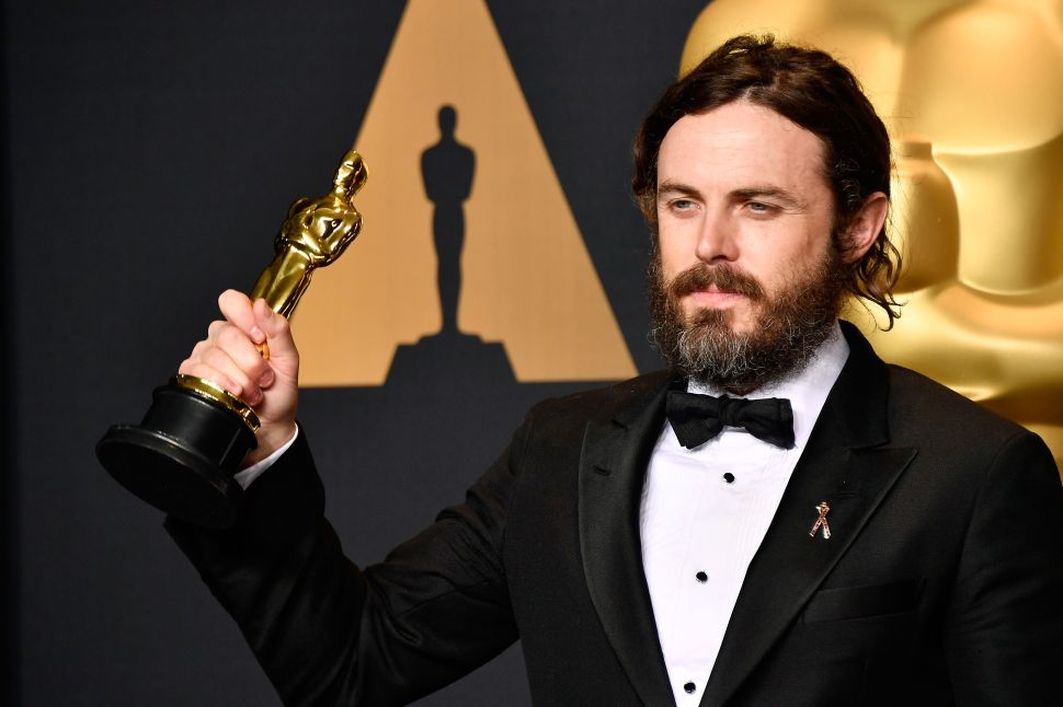 Casey Affleck Will Not Present at This Year's Oscars