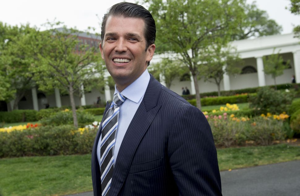Senate Panel to Release Donald Trump Jr. Interviews on Trump Tower Meeting