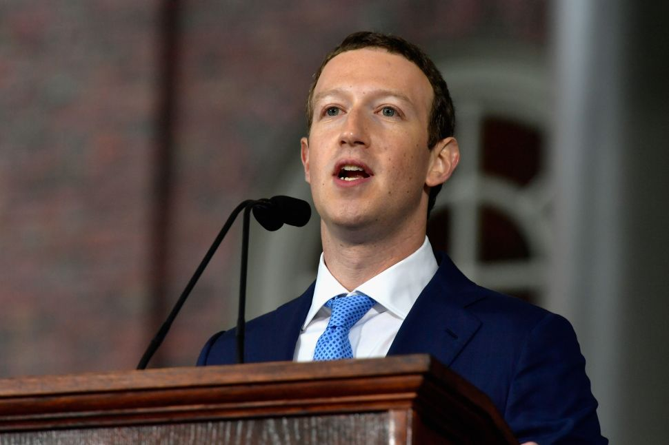 Facebook Bans Bitcoin Ads Weeks After Mark Zuckerberg Praised Crypto