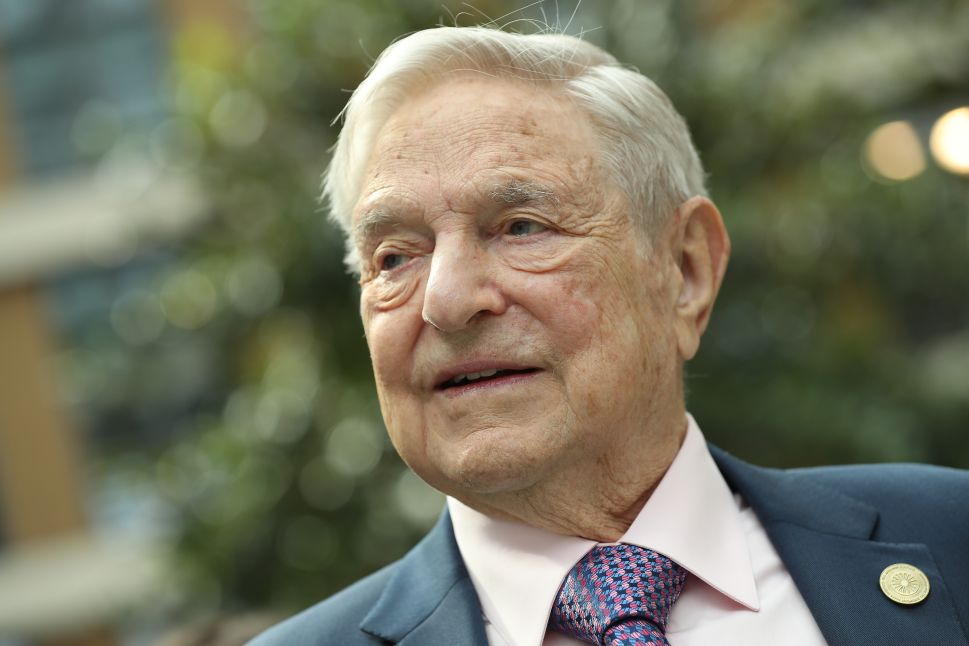 George Soros: Facebook, Google Pose Health Risk Foreign Spies May Exploit