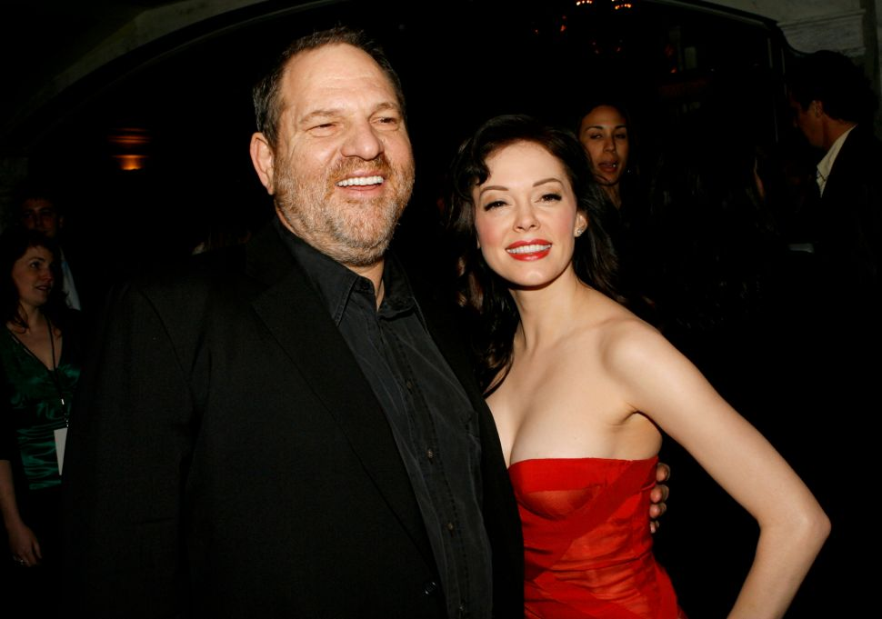 Harvey Weinstein Finally Responds to Rose McGowan's Allegations