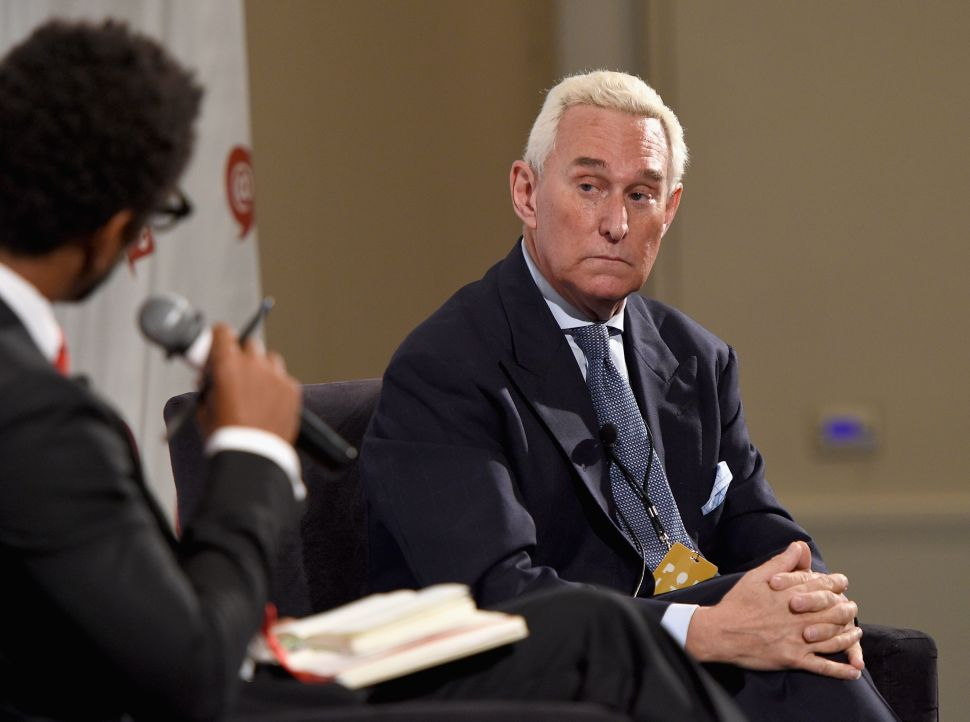 Roger Stone Files Lobbying Disclosure for Somalia Efforts Months After Troop Surge
