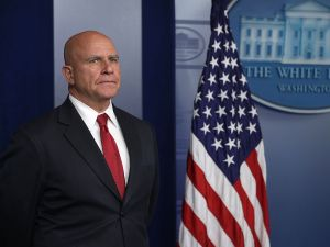 National Security Adviser H.R. McMaster.