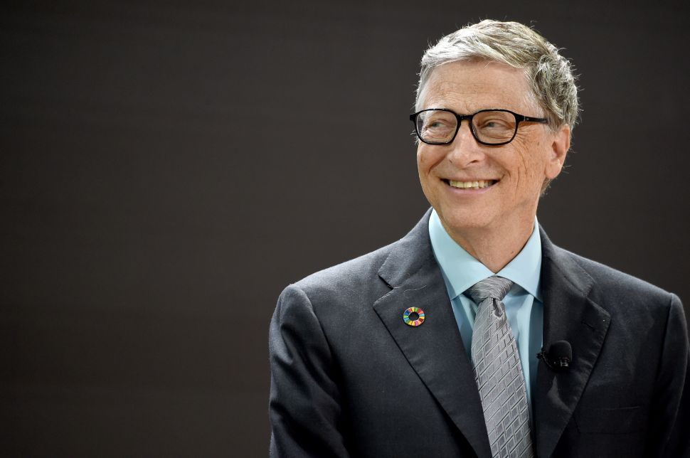 As Guest Editor of Time Magazine, Bill Gates Believes in Good News