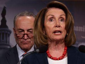House Minority Leader Nancy Pelosi and Senate Minority Leader Chuck Schumer.