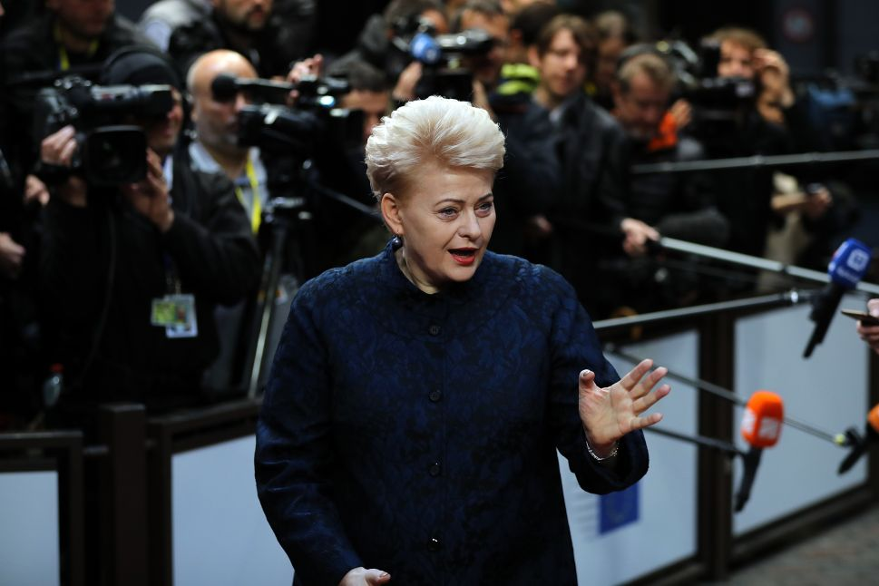 Is Lithuania's President Ready to Warm Up to Putin?