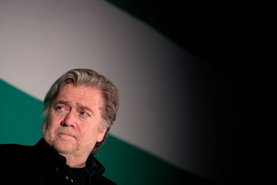This Is the End of Steve Bannon-World as We Know It