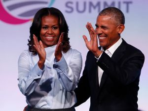 Barack Obama and Michelle Obama reportedly checked out an apartment at 10 Gracie Square last year.