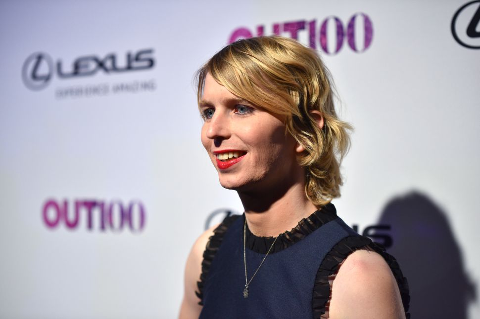 Chelsea Manning Mingles With James O'Keefe During Hard Right Gala